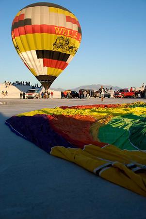 White Sands Balloon Fest