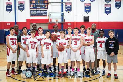 2016 Middle School Varsity Basketball