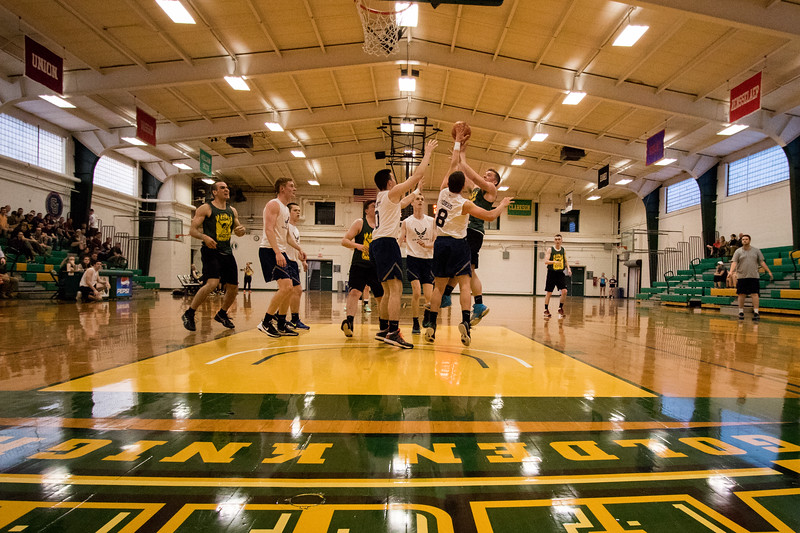 Clarkson ROTC Army vs. Air Force Basketball Game