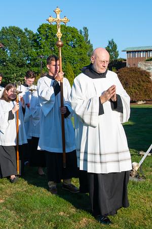 Monastic Centennial Mass