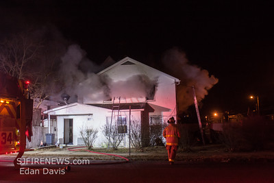 12/13/2014. Dwelling, Millville City, Cumberland County NJ, 301 E St.