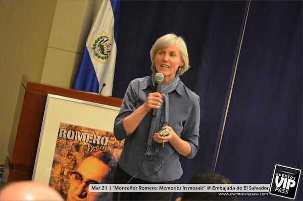 """Monseñor Romero: Memories in mosaic"" @ Embajada de El Salvador | Thu, Mar 21"