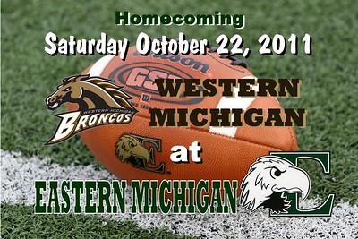 2011 Western Michigan at Eastern Michigan (10-22-11)