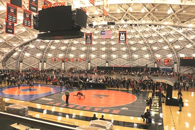 Nov. 4, 2018 Rutgers at the  Princeton Open  in Jadwin Gym