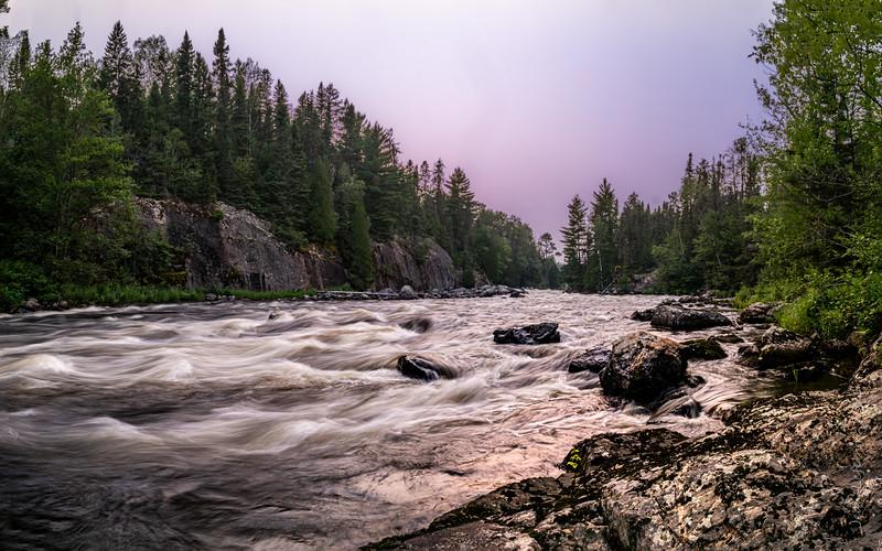 Bazett Rapids, Spanish River