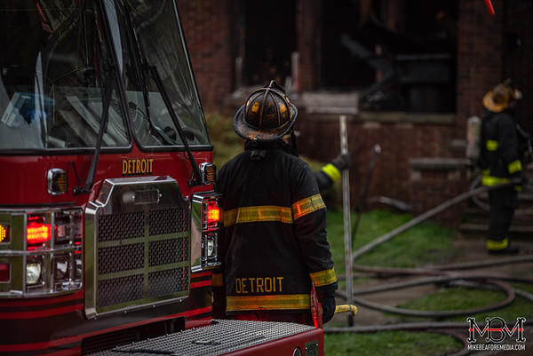 Detroit MI, House Fire 4-17-2020