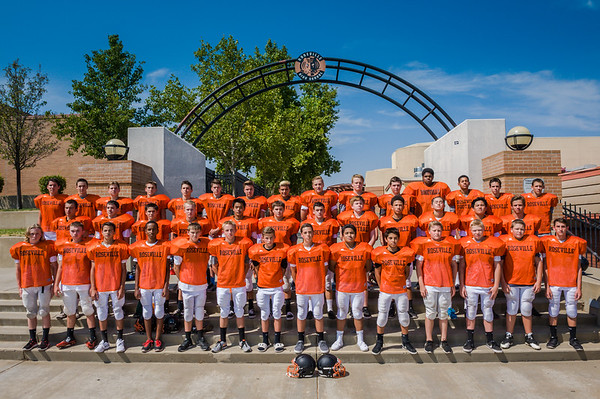 Roseville High School Frosh Football Team Photo 8-18-15