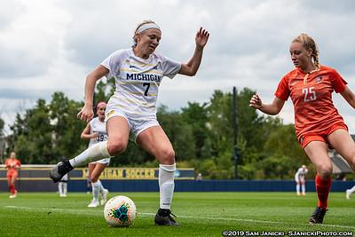 9-8-19 - Best of Michigan Women's Soccer Vs BGSU (Senior Day)