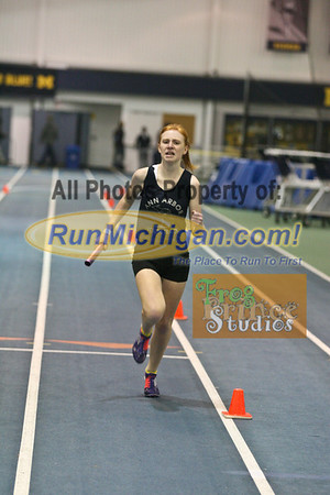 4x800 Relay - January 16 MITS at UM