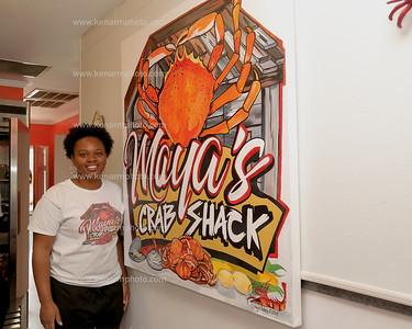 De'Maya Grand opening Crab Shack