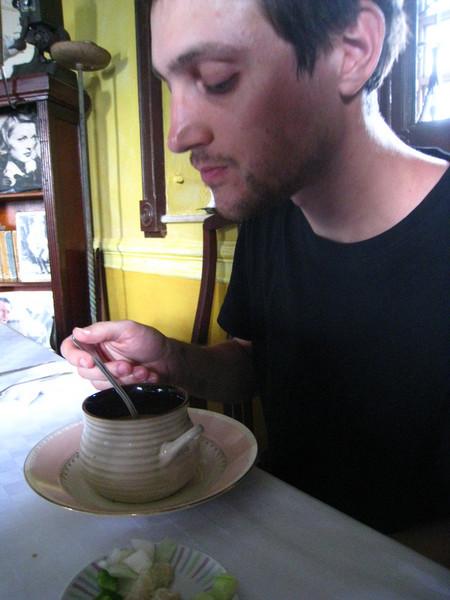 Palador La Guarida - gazpacho as good as we had in Spain