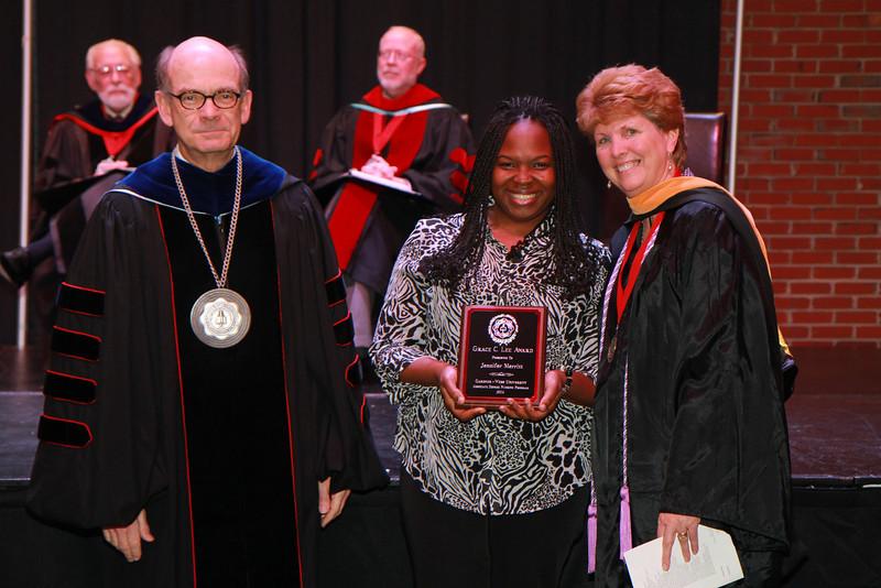 59th Academic Awards Day; Spring 2014. Grace C. Lee Nursing Award: Jennifer Lee Merritt