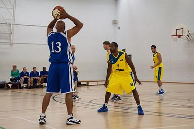 Rossendale Raptors v City of Sheffield Saints - England Basketball National League Div 3 North