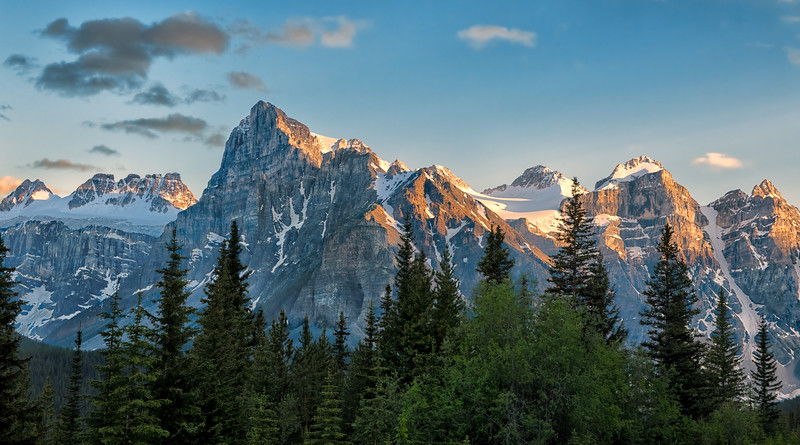 A Canadian Rockies Sunset