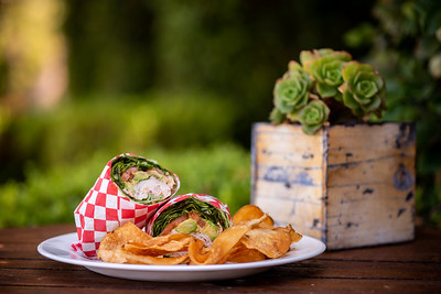 Twin Oaks Golf Course Food Photography | San Diego Food Photographer