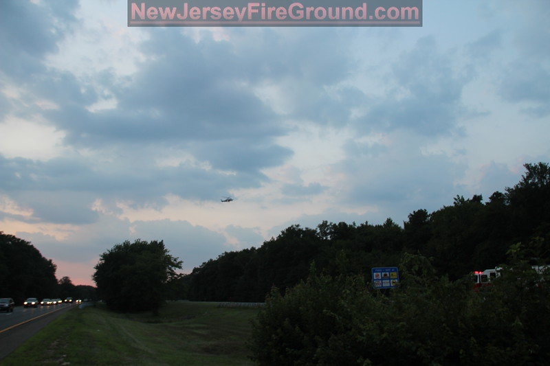 7-17-2013 (Camden County) Winslow Twp- MVA w/ Entrapment, Ejection & Medevac, Atlantic City Expressway mile post 39.0
