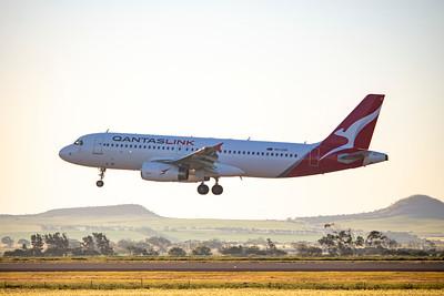 First A320 RPT Flight to Geraldton