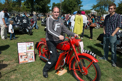 Antique Motorcycle Show 2014