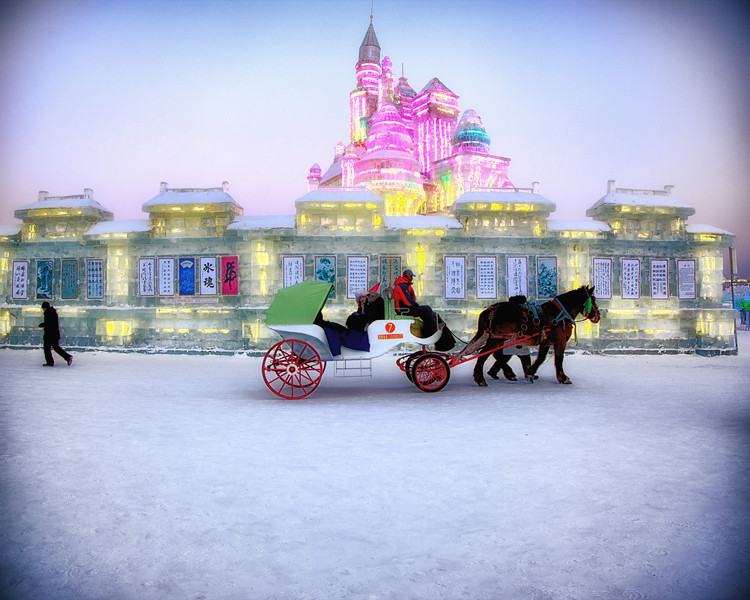 ice palace with horse drawn carriage 1.jpg