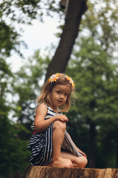 Unknown Girl. Saint Petersburg, 2014.