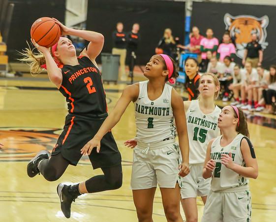 Princeton WBB vs Dartmouth - Highlights