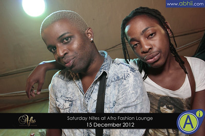 Afro Lounge - 15th December 2012