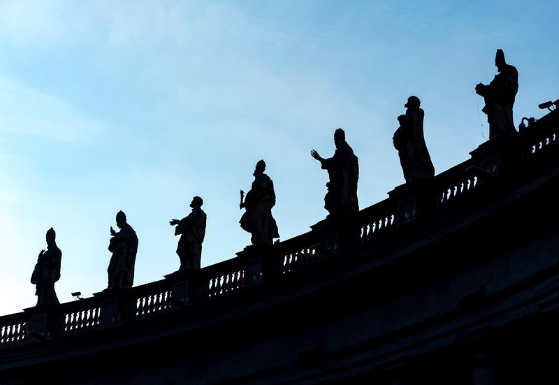 Statues of Saints, Vatican