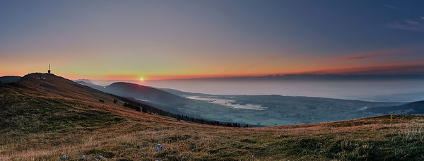 Panoramique du Chasseral