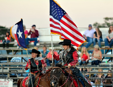 2016 Rodeo Grand Entry Saturday 9/3/2016