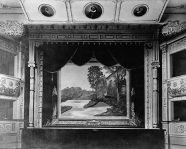 Thanks to the Spearfish Area Chamber of Commerce for sharing this old Black Hills Studios photograph of the Matthews Opera House stage.  Undated.