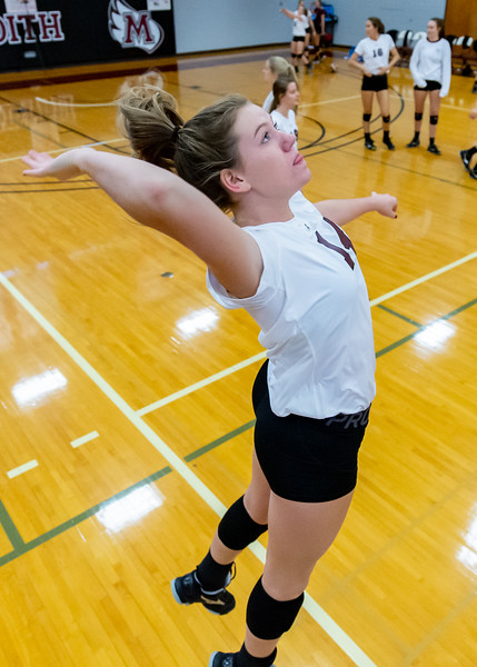 Meredith Volleyball senior night.. October 19, 2019. D4S_5752
