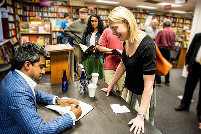 "Anand Giridharadas at Politics and Prose for book reading of ""The True American"""