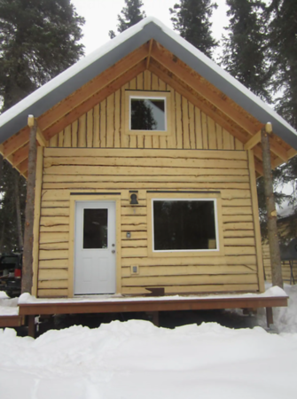 3 Cabins options in Hatcher Pass