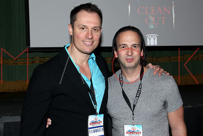 """ATLANTIC CITY, NJ - OCTOBER 18:  The world premiere of """"Clean Cut"""" at the 2015 Atlantic City Cinefest Film Festival at Dante Hall Theater on October 18, 2015 in Atlantic City, New Jersey."""