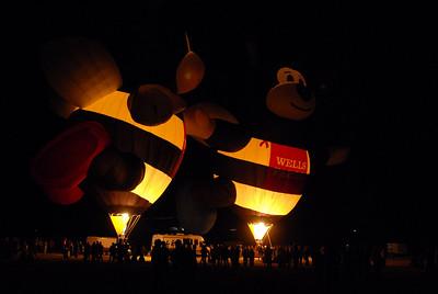 Reno Hot Air Balloon Show 2008