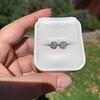 1.70ctw Old European Cut Diamond Clover Stud Earrings, GIA H-I SI 30