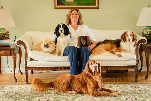Loren & Dogs