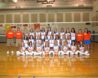 MCHS Volleyball Picture Day - Individual, Button Pictures and Fun  Shots  -  August 6, 2006