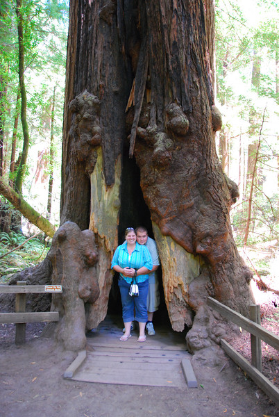 Ginger and Lucas (that's me!) at Muir Woods.
