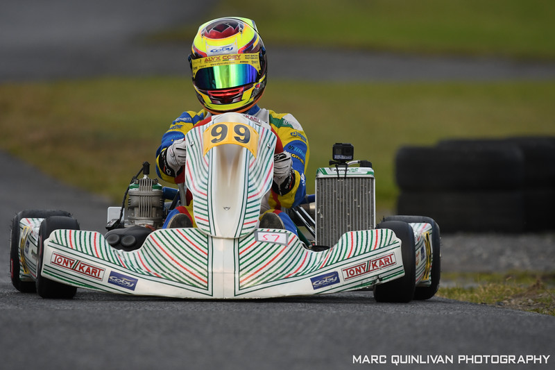 Motorsport Ireland Karting Championship 2020 - Round 2 - Galway - Alyx Coby