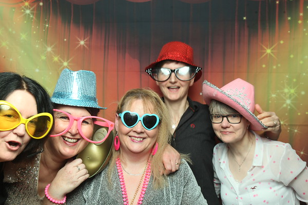 Photo Booth Hire - Julie's 50th Birthday