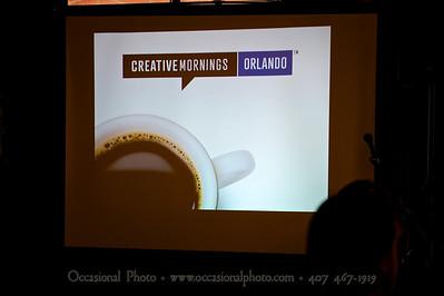 CreativeMornings/Orlando, July 26, 2013