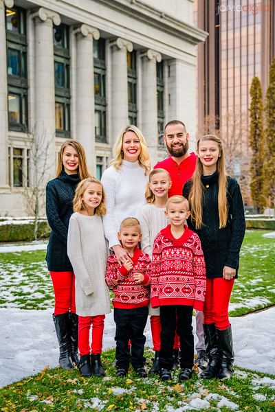 Tanner Family at Temple Square