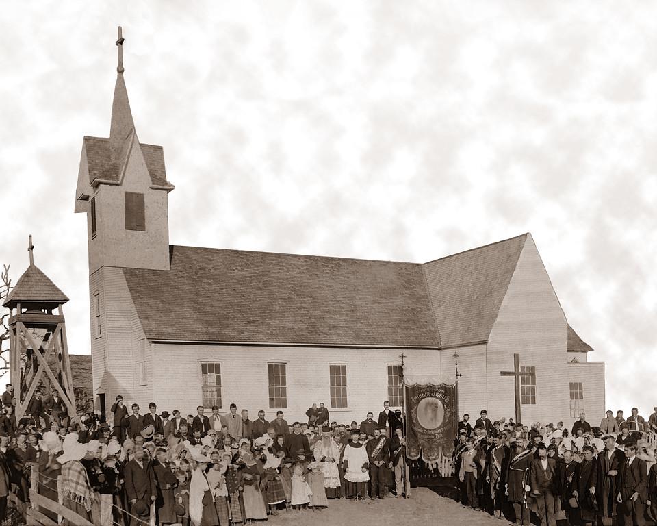 St. Mary's Catholic Church In Bremond, Texas