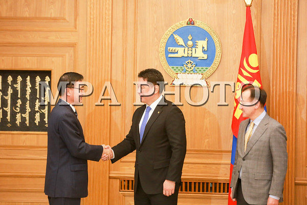 Ерөнхий сайд У.Хүрэлсүх БНХАУ-аас Монгол Улсад суугаа Элчин сайд Чай Вэньруйг хүлээн ав уулзлаа