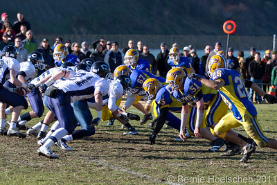 Hull High Thanksgiving Day Football 2011