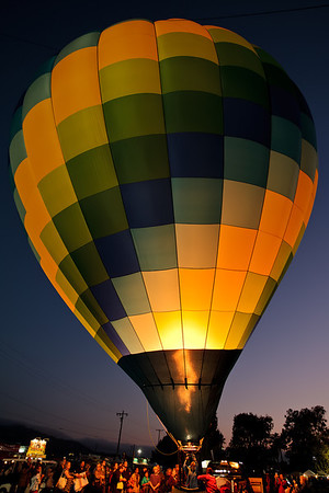 Santa Paula Citrus Classic Hot Air Balloon