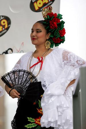 Pecan Street Festival / Charreada Mexicana at Plaza De Toros / Annual Spring Festival Fundraiser at Sacred Heart of Elgin Tour
