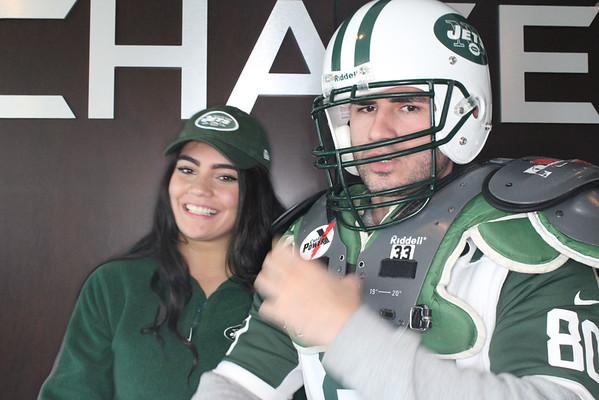 NY Jets Vs. Jaguars 11/8/2015 Chase Club