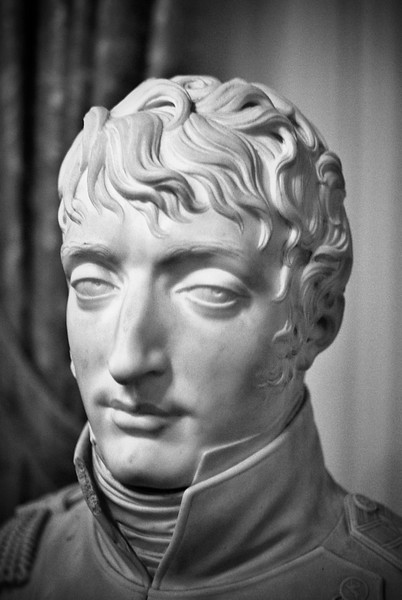 Napoleon bust in Royal Palace of Amsterdam